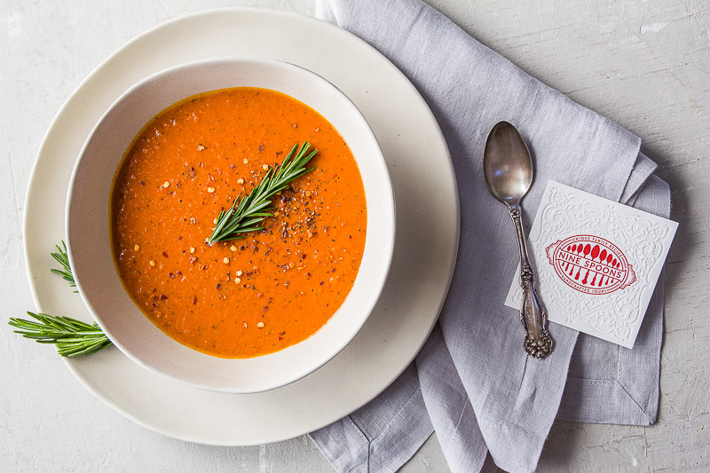 Zesty Tomato Basil Bisque